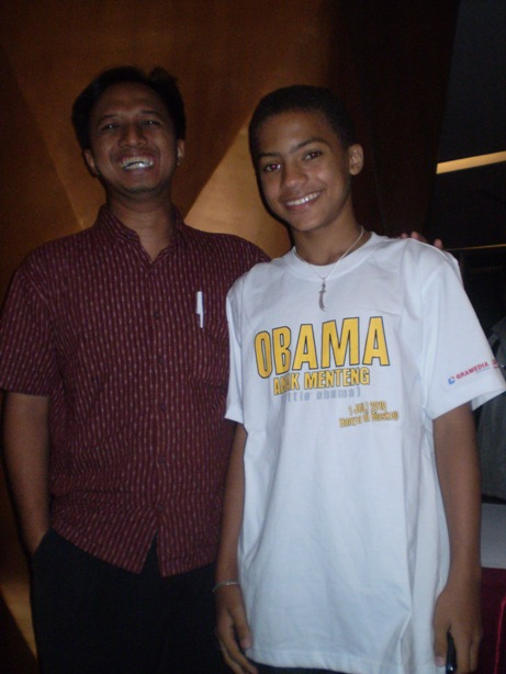 with little obama