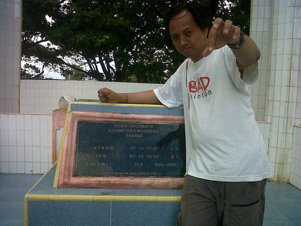 Monumen Nol Kilometer Sabang. Indonesia dimulai dari sini.