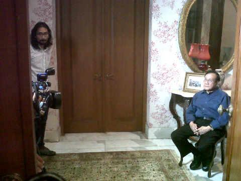 Dialog live Kompas TV di rumah Akbar Tanjung. Isu terpentingkah Demokrat?