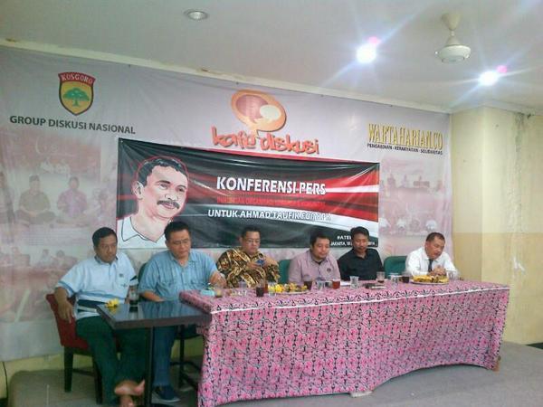 Dukungan Ahmad Taufik sebagai komisioner KPK. Respek dari banyak elemen.